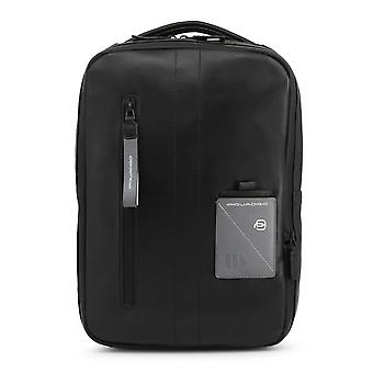 Piquadro Original Men All Year Backpack/Rucksack - Black Color 55416