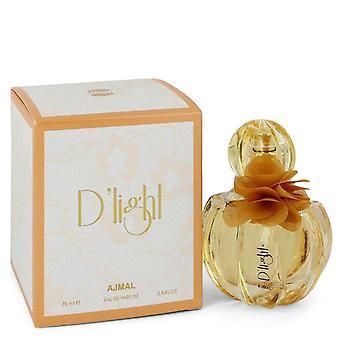 Ajmal D'light Eau De Parfum Spray By Ajmal 2.5 oz Eau De Parfum Spray