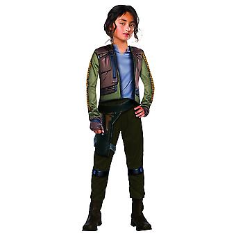 Star Wars Rogue One Childrens/Kids Jyn Erso Deluxe Costume