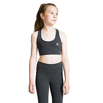 Dare 2b Filles Trendsetter Lightweight Cotton Sporty Crop Top