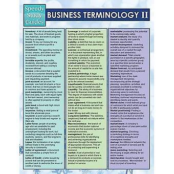 Business Terminology II Speedy Study Guides by Publishing LLC & Speedy