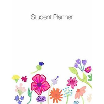 Student Planner Organizer Agenda Notes 8.5 x 11 Undated Week at a Glance Month at a Glance 146 pages by Terrazas & April Chloe