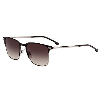 Hugo Boss 1019/S 4IN/HA Matte Brown/Brown Gradient Sunglasses