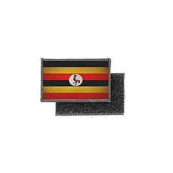 Patch ecusson prints vintage ugandan flag badge