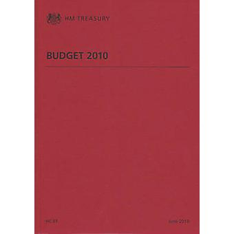 June Budget 2010 by Great Britain - H. M. Treasury - 9780102966305 Book