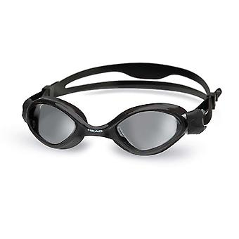 Head Tiger Swim Goggle - Smoke Lens - Black Frame