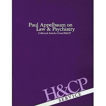 Paul Appelbaum auf Recht und Psychiatrie: Artikel von Krankenhaus und Psychiatrie Gemeinschaft gesammelt