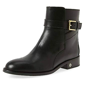 Tory Burch Brooke Leather Ankle Bootie, Black