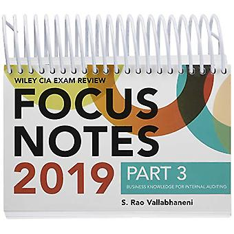 Wiley CIA Exam Review 2019 Focus Notes - Part 3 - Business Knowledge f