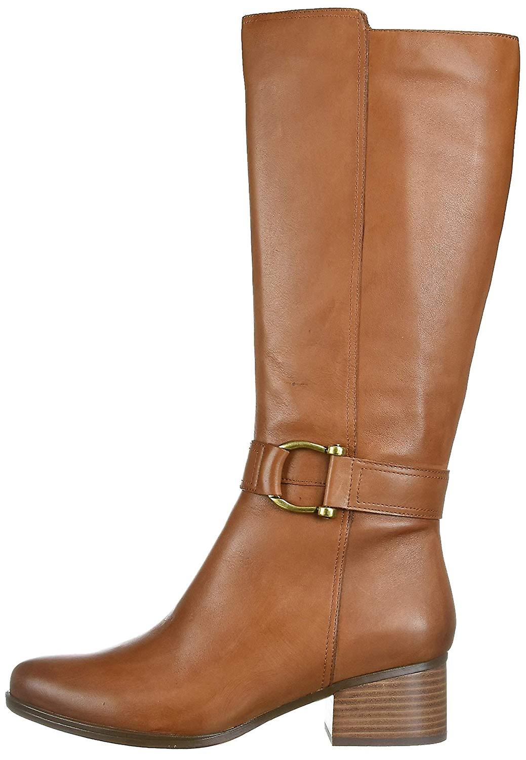 Naturalizer Womens Daelynn Leather Almond Toe Knee High Fashion Boots O2PZS