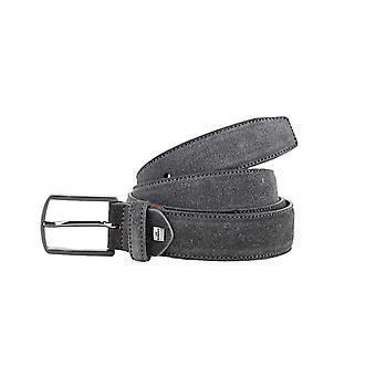 Grey Formal Men's Belt