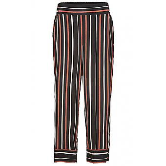 Masai Clothing Petrina Red Ochre Striped Culottes