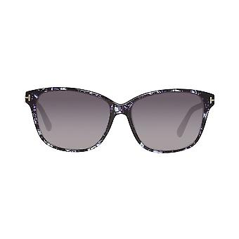 Tom Ford FT0432 55W 59 Black Ladies Gafas de sol - Negro