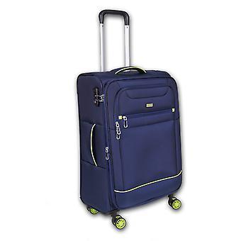 Fabrizio Worldpack Skyline Trolley M, 4 wielen, 67 cm, 48 L, Blauw