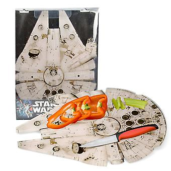 Star Wars Millenium Falcon Cutting Board Pot Pad Joke Elemente