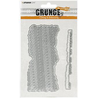Studio Light Grunge 2.0 Collection Coupe & Gaufrage Die-NR. 174