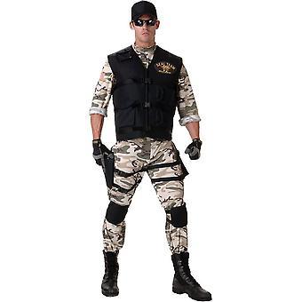 Seal Team tonåring kostym