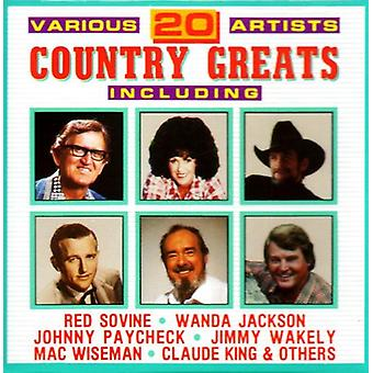 20 Country Greats - 20 Country Greats [CD] USA import
