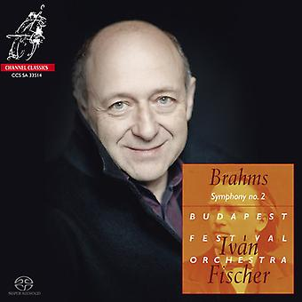 Brahms / Fischer / Budapest Festival Orch - Sym 2 Tragic Ovtr Academic Festival Ovtr [SACD] USA import
