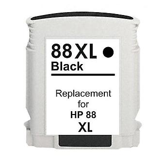 RudyTwos Replacement for HP 88XL Ink Cartridge Black Compatible with Officejet Pro K550, K550dtn, K550dtwn, K5300, K5400, K5400dn, K5400dtn, K5400n, K8600, K8600dn, L7000, L7400, L7480, L7500, L7550,