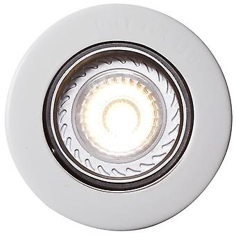 Mixit Pro - White Circular Built-In Spotlight - Nordlux 71810101