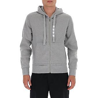 Thom Browne Mjt231a03034055 Heren's Grey Cotton Sweatshirt