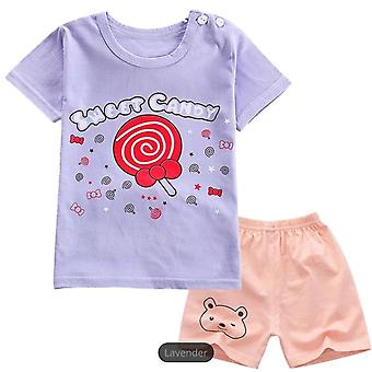 Sweet Candy T-Shirt And Shorts Set