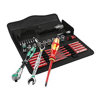 Wera Kraftform Kompakt W1 Maintenance Set, 35 Piece WER135926