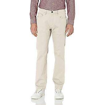 Goodthreads Men's Straight-Fit 5-Pocket Chino Pant, Stone, 29W x 32L