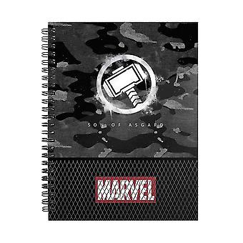 Marvel, A5 Rutat Block - Thor
