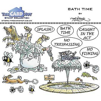 The Card Hut Bath Time Clear Stamps