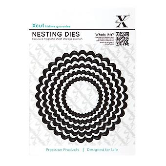 Xcut aninhamento morre (5pcs) - círculo recortado (XCU 503408)