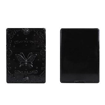 Oil Absorbing Sheet With Black & White Mirror Case Oil Remover Paper