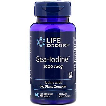 Life Extension, Sea-Iodine, 1,000 mcg, 60 Vegetarian Capsules