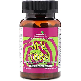 FutureBiotics, M.V. Teen, 180 Capsules