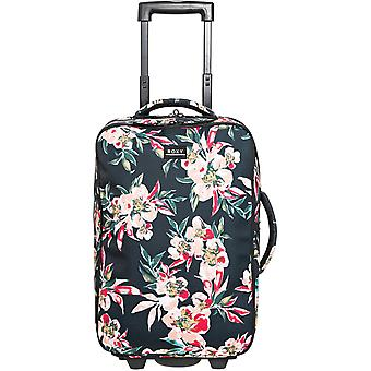 Roxy Get It Girl Hand Luggage in Anthracite Wonder Garden S