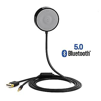 Bluetooth 5.0 Car Kit Receiver Aptx Ll Wireless 3.5 Aux Adapter For Car Speaker