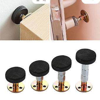 2pcs Bed Stabilizer- Adjustable Furniture Fixed Bracket Wall Bed Stabilizer Self Adhesive Door Stopper Anti-shake Hardware