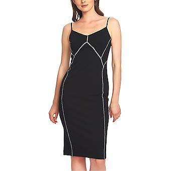 1.State | Contrast-Stitch Slip Dress