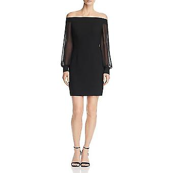 Aidan by Aidan Mattox | Off-the-Shoulder Crepe Dress
