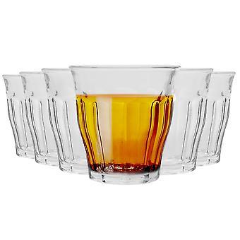 Duralex Picardie drinkbril - 160ml Tuimelaars voor water, sap - pakje van 6