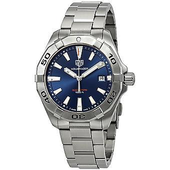 Tag Heuer Aquaracer Blue Brushed Dial Men-apos;s Watch WBD1112. BA0928