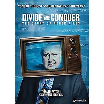 Split & Conquer: Historien om Roger Ailes [DVD] USA import