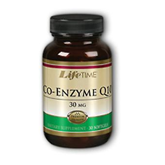 Life Time Nutritional Specialties Co-Enzyme Q10, 30 mg, 30 softgels