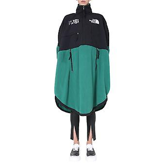 Mm6 X The North Face S62ct0106s53391650 Women's Black/green Polyester Dress