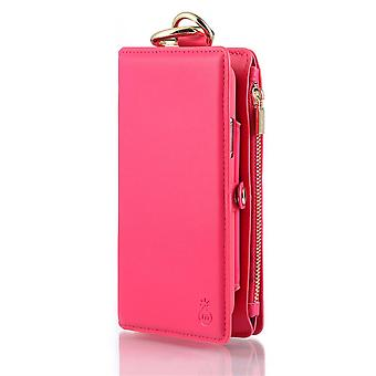 حالة جلدية لـ Apple iPhone XS MAX Pink moshubao-2