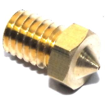 0.5mm M6 1.75mm V6 Brass Nozzle