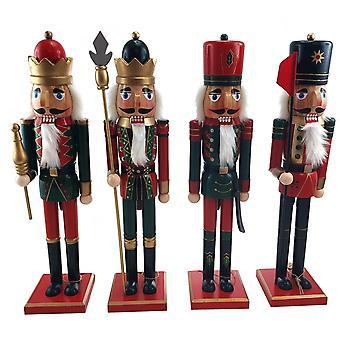 Pähkinänsärkijä Soldier 25 cm hattu/punainen