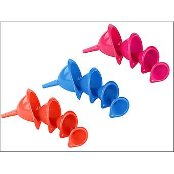 Chef Aid Funnels Set Of 4 10E17501