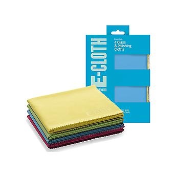 E-Cloth Glass & Polishing Cloths x 4 4GCLP